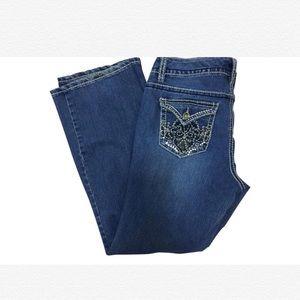 """Nine West Jeans """"Annette"""" Embellished Jeans"""